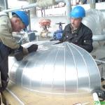 Теплоизоляция котлов на ЗАО «ОРМА»
