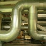 Теплоизоляция труб на ТЭЦ 5